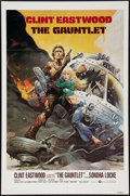 "Movie Posters:Action, The Gauntlet (Warner Brothers, 1977). One Sheet (27"" X 41"") FlatFolded. Action.. ..."