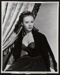 "Movie Posters:Adventure, Piper Laurie in The Mississippi Gambler (Universal International,1953). Portrait Photo (11.25"" X 14""). Adventure.. ..."