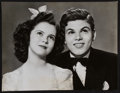 """Movie Posters:Drama, Shirley Temple and Dickie Moore in Miss Annie Rooney (UnitedArtists, 1942). Portrait Photo (10.5"""" X 13.75""""). Drama.. ..."""