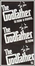 "Movie Posters:Crime, The Godfather (Paramount, 1972). Three Sheet (41"" X 80""). Crime....."