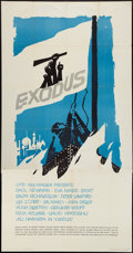 "Movie Posters:Drama, Exodus (United Artists, 1960). Three Sheet (41"" X 80""). Drama.. ..."