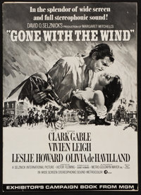"""Gone with the Wind (MGM, R-1968). Uncut Pressbook (Multiple Pages, 12"""" x 17""""). Academy Award Winners"""