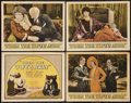 "Movie Posters:Comedy, When the Wife's Away (Columbia, 1926). Title Lobby Card and LobbyCards (3) (11"" X 14""). Comedy.. ... (Total: 4 Items)"