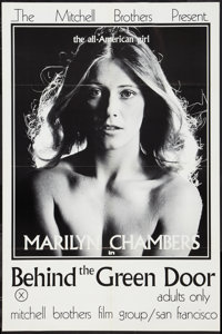 """Behind the Green Door (Mitchell Brothers Film Group, 1972). One Sheet (24"""" X 35.5""""). Adult"""