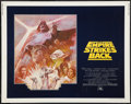 "Movie Posters:Science Fiction, The Empire Strikes Back (20th Century Fox, R-1981). Half Sheet (22""X 28""). Science Fiction.. ..."