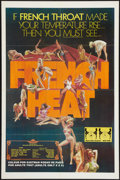 """Movie Posters:Adult, French Heat & Other Lot (Gail Film, 1976). One Sheets (2) (27"""" X 41""""). Adult.. ... (Total: 2 Items)"""