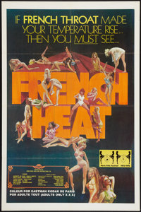 """French Heat & Other Lot (Gail Film, 1976). One Sheets (2) (27"""" X 41""""). Adult. ... (Total: 2 Items)"""