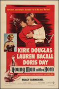 """Movie Posters:Drama, Young Man with a Horn (Warner Brothers, 1950). One Sheet (27"""" X41""""). Drama.. ..."""