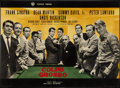 "Movie Posters:Crime, Ocean's 11 (Warner Brothers, 1960). Italian Foglio (26.5"" X 36.5"").Crime.. ..."