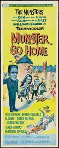 """Movie Posters:Comedy, Munster, Go Home (Universal, 1966). Insert (14"""" X 36""""). Comedy....."""