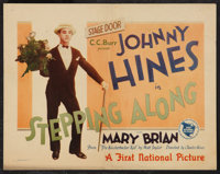 """Stepping Along (First National, 1926). Title Lobby Card (11"""" X 14""""). Comedy"""