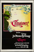 "Movie Posters:Mystery, Chinatown (Paramount, 1974). One Sheet (27"" X 41""). Flat Folded.Mystery.. ..."