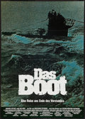 "Movie Posters:War, Das Boot (Columbia, 1981). German A1 (23.25"" X 33""). War.. ..."