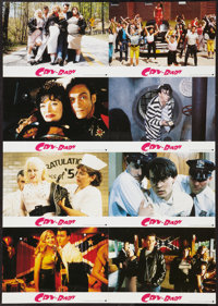 """Cry-Baby (Universal, 1990). Uncut German Lobby Card Sheets (2) (23.5"""" X 33""""). Comedy. ... (Total: 2 Items)"""