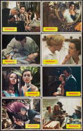 """Movie Posters:Adult, Emmanuelle (Columbia, 1975). Lobby Card Set of 8 (11"""" X 14""""). Adult.. ... (Total: 8 Items)"""