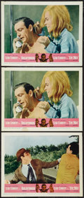 """Movie Posters:James Bond, Goldfinger/Dr. No Combo (United Artists, R-1966). Lobby Cards (3) (11"""" X 14""""). James Bond.. ... (Total: 3 Items)"""