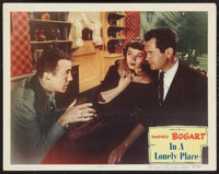 """In a Lonely Place (Columbia, 1950). Lobby Card (11"""" X 14""""). Film Noir"""