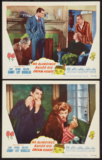 "Mr. Blandings Builds His Dream House (RKO, 1948). Lobby Cards (2) (11"" X 14""). Comedy. ... (Total: 2 Items)"