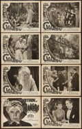 """Movie Posters:Serial, The Return of Chandu (Principal Distributing, 1934). Lobby Card Setof 8 (11"""" X 14"""") Episode 12 -- """"The Knife Descends."""" Ser... (Total:8 Items)"""