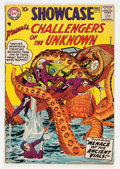 Silver Age (1956-1969):Superhero, Showcase #12 Challengers of the Unknown (DC, 1958) Condition: VG-....