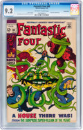 Silver Age (1956-1969):Superhero, Fantastic Four #88 Suscha News pedigree (Marvel, 1969) CGC NM- 9.2 Off-white to white pages....