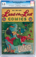 Golden Age (1938-1955):Humor, Land of the Lost Comics #1 (EC, 1946) CGC VG/FN 5.0 Cream to off-white pages....