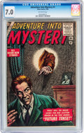 Silver Age (1956-1969):Horror, Adventure Into Mystery #1 (Atlas, 1956) CGC FN/VF 7.0 Off-whitepages....