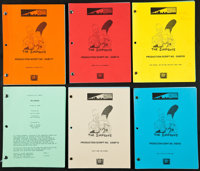 "The Simpsons (20th Century Fox, 2004). Production Scripts (6) (Multiple Pages, 8.5"" X 11""). Animation. ... (To..."