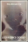 "Movie Posters:Science Fiction, 2001: A Space Odyssey (MGM, R-1971). One Sheet (27"" X 41""). ScienceFiction.. ..."