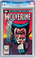Modern Age (1980-Present):Superhero, Wolverine Limited Series #1 (Marvel, 1982) CGC NM/MT 9.8 Off-whiteto white pages....