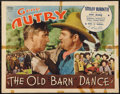 "Movie Posters:Western, The Old Barn Dance (Republic, 1938). Half Sheet (22"" X 28"").Western.. ..."
