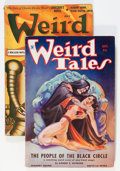 Pulps:Horror, Weird Tales Group (Popular Fiction, 1934-41) Condition: Average VG.... (Total: 2 Items)