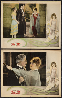 """The Lily (Fox, 1926). Lobby Cards (2) (11"""" X 14""""). Romance. ... (Total: 2 Items)"""