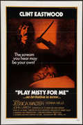 "Movie Posters:Thriller, Play Misty For Me (Universal, 1971). One Sheet (27"" X 41"").Thriller.. ..."