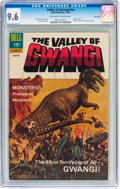 Silver Age (1956-1969):Horror, Movie Classics: The Valley of Gwangi #nn File Copy (Dell, 1969) CGCNM+ 9.6 Off-white to white pages....