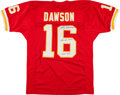 Football Collectibles:Uniforms, Len Dawson Signed Kansas City Chiefs Jersey....