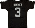 """Football Collectibles:Uniforms, Daryle Lamonica """"Mad Bomber"""" Signed Oakland Raiders Jersey. ..."""