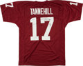 Football Collectibles:Uniforms, Ryan Tannehill Signed Texas A&M Aggies Jersey....