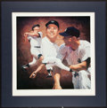"Baseball Collectibles:Others, Mickey Mantle Signed ""Danny Day"" Lithograph...."