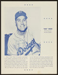 Autographs:Baseballs, 1955 Baseball Greats Signed Jamboree Program....