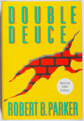 Books:Mystery & Detective Fiction, Robert B. Parker. SIGNED. Double Deuce. Putnam, 1992. ABAedition, first printing. Signed by the author. Fin...