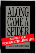 Books:Mystery & Detective Fiction, James Patterson. SIGNED. Along Came a Spider. Little, Brown,1993. Advance review copy. Signed by the author. Fi...
