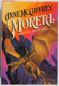 Books:Science Fiction & Fantasy, Anne McCaffrey. SIGNED. Moreta. Del Rey, 1983. First edition, first printing. Signed by the author. Remainder ma...