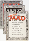 Magazines:Mad, Mad Magazine Group (EC, 1955-58) Condition: Average FN.... (Total:5 Comic Books)