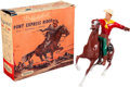 """Miscellaneous Collectibles:General, Vintage Hartland - """"Buffalo Bill, Pony Express Rider"""" With Box! ..."""