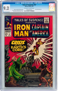 Silver Age (1956-1969):Superhero, Tales of Suspense #87 (Marvel, 1967) CGC NM- 9.2 Off-white to white pages....