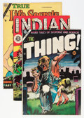 Golden Age (1938-1955):Miscellaneous, Miscellaneous Golden to Bronze Age Comics Group (Various Publishers, 1951-71) Condition: Average FN.... (Total: 5 Comic Books)
