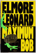 Books:Mystery & Detective Fiction, Elmore Leonard. SIGNED. Maximum Bob. Delacorte, 1991. Firstedition, first printing. Signed by the author. Mild ...