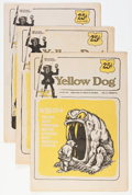 Silver Age (1956-1969):Alternative/Underground, Yellow Dog Tabloid Group (Print Mint, 1969).... (Total: 9 ComicBooks)