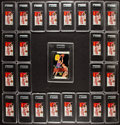 Basketball Cards:Sets, 1969-70 Topps Basketball Counter Display Wax Box With 24 HighGraded Unopened Packs!...